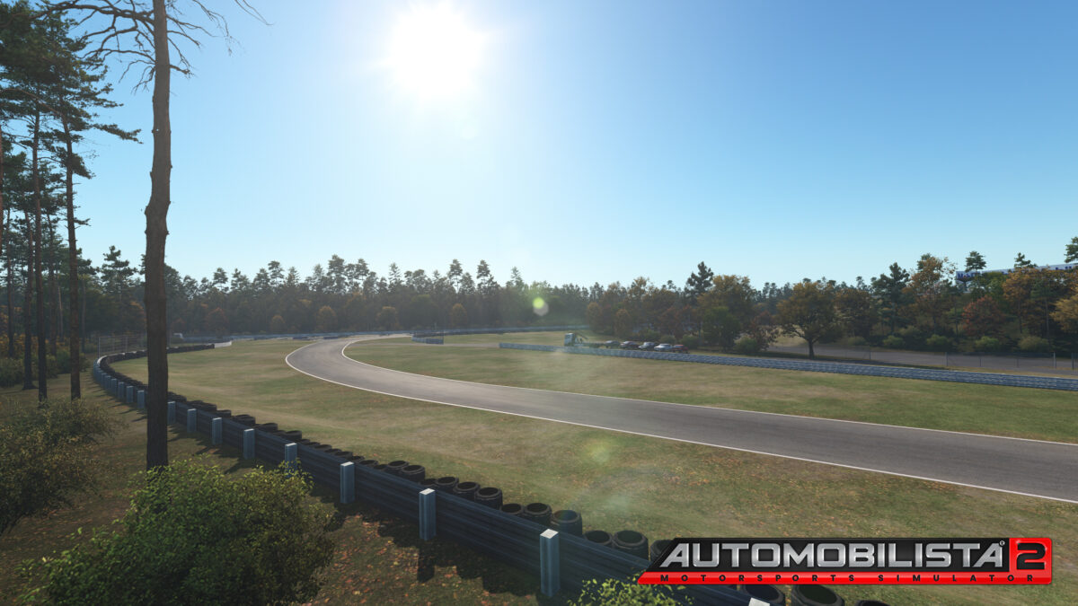 Time of year changes the scenery around each circuit