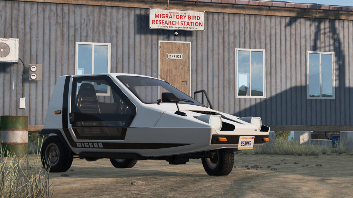 Who could resist the Ibishu Wigeon incuded with the BeamNG.drive v0.23 update