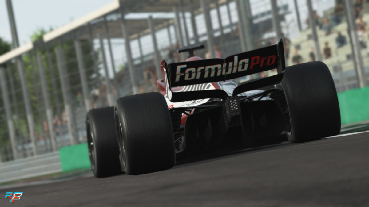 V10 power and sounds, with the Formula Pro released for rFactor 2