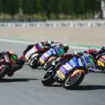 A new free MotoGP 21 patch adds the MotoE class