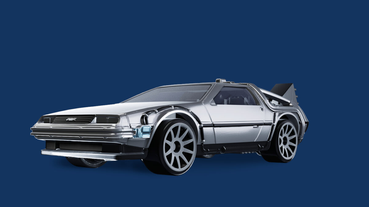 The Back to the Future Time Machine is revealed alongside the new Hot Wheels Unleashed Diecast trailer