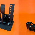 The new Symdeck load cell pedals and handbrake