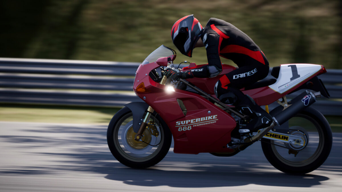 The 1993 Ducati 888 SP5 arrives in the RIDE 4 Italian Style Pack 2