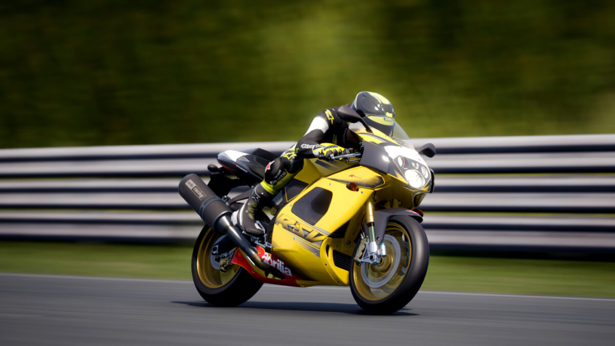 The new RIDE 4 Italian Style Pack 2 DLC includes the 2003 Aprilia RSV1000 R
