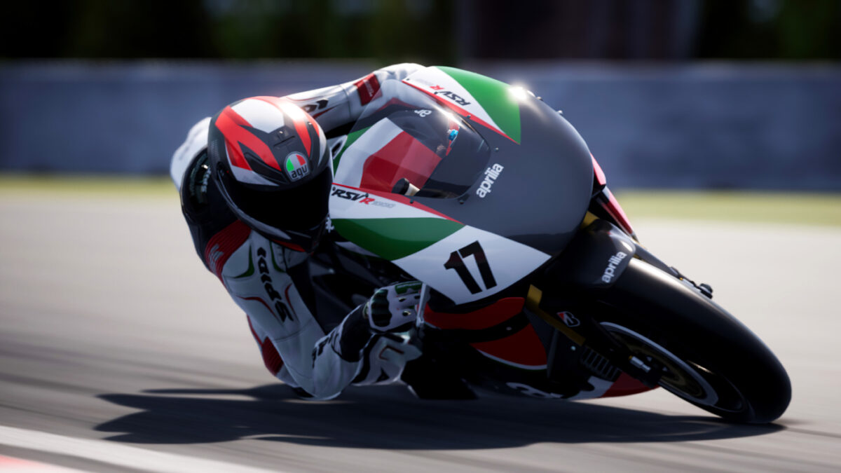 The 2003 Aprilia RSV1000 R - Racing Modified is in the Italian Style Pack, even if it's actually an Aprilia RSV Mille R - Racing Modified