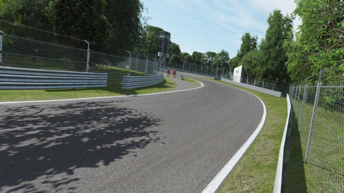 The Monza updates also include changes to trackside foliage, crowd density and graphical optimisation...
