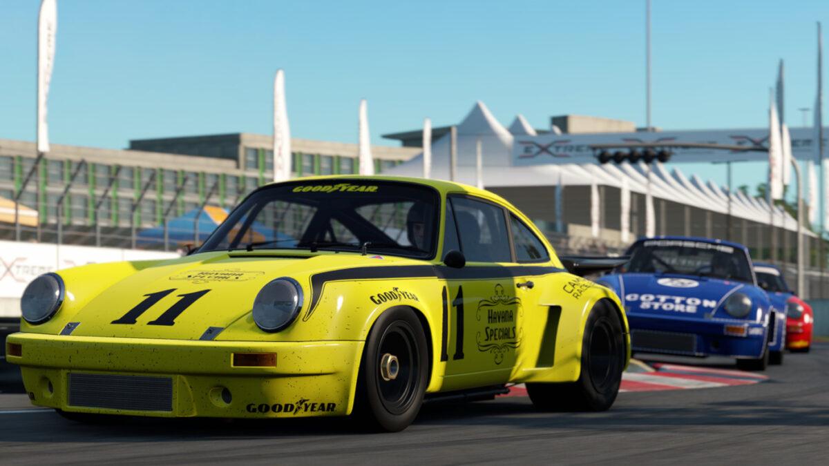 Automobilista 2 Update V1.2.2.0 adds a 1974 Porsche RSR 3.0 as the first GT Classic class car