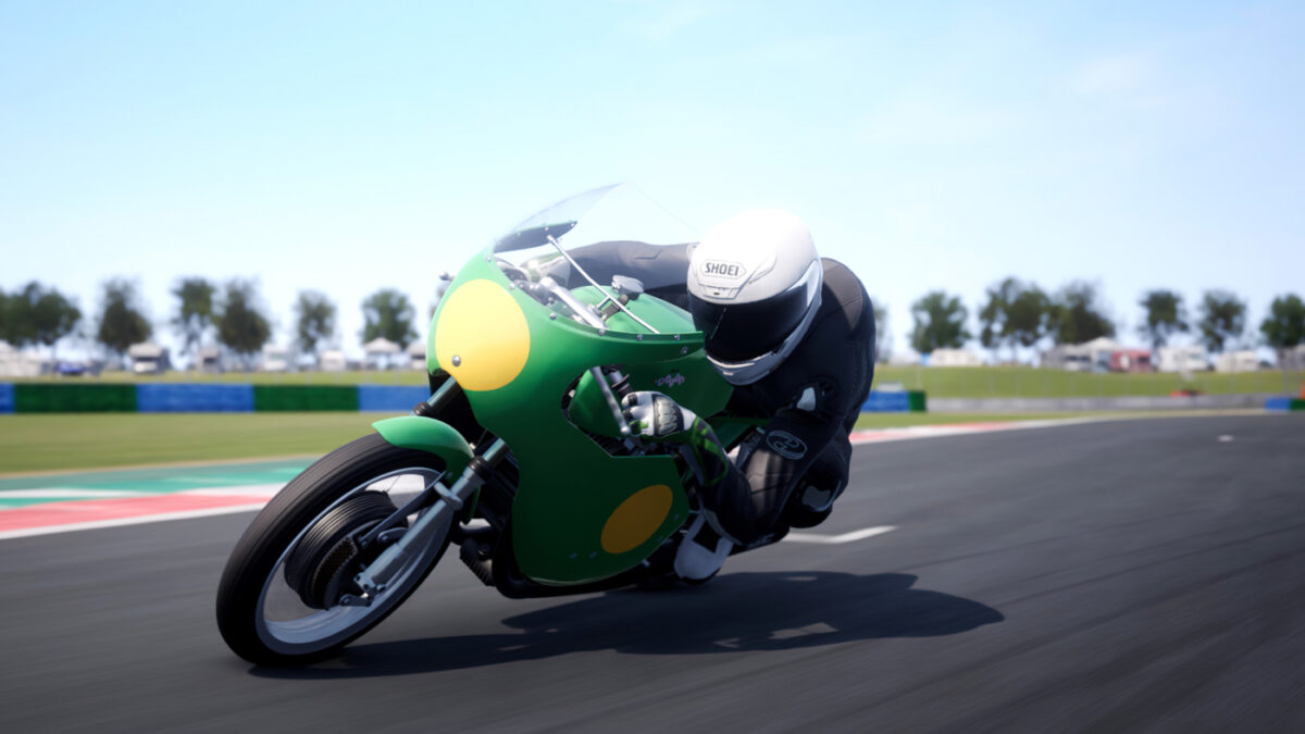 The free RIDE 4 Bonus Pack 13 adds a classic Paton 500 Bicilindrica from 1969