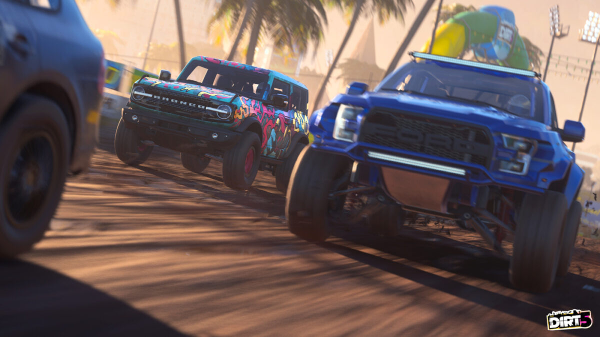 Both the DIRT 5 Update 6.00 and Wild Spirits DLC have been released together by Codemasters