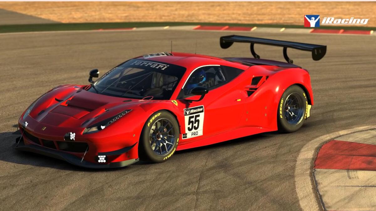 The Ferrari 488 GT3 EVO Arrives In iRacing 2021 Season 4