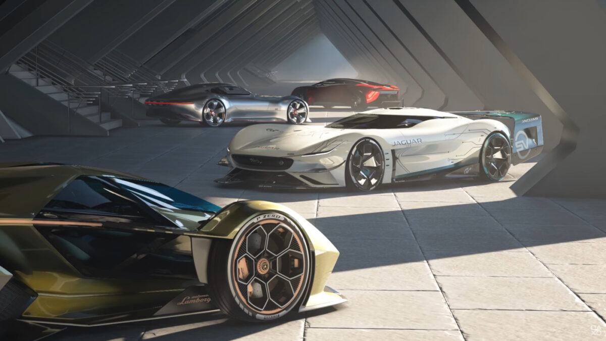 New and returning cars for the Gran Turismo series make an appearance
