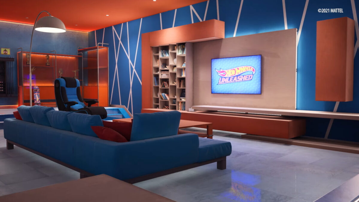 The Basement is revealed in the new Hot Wheels Unleashed customisation video