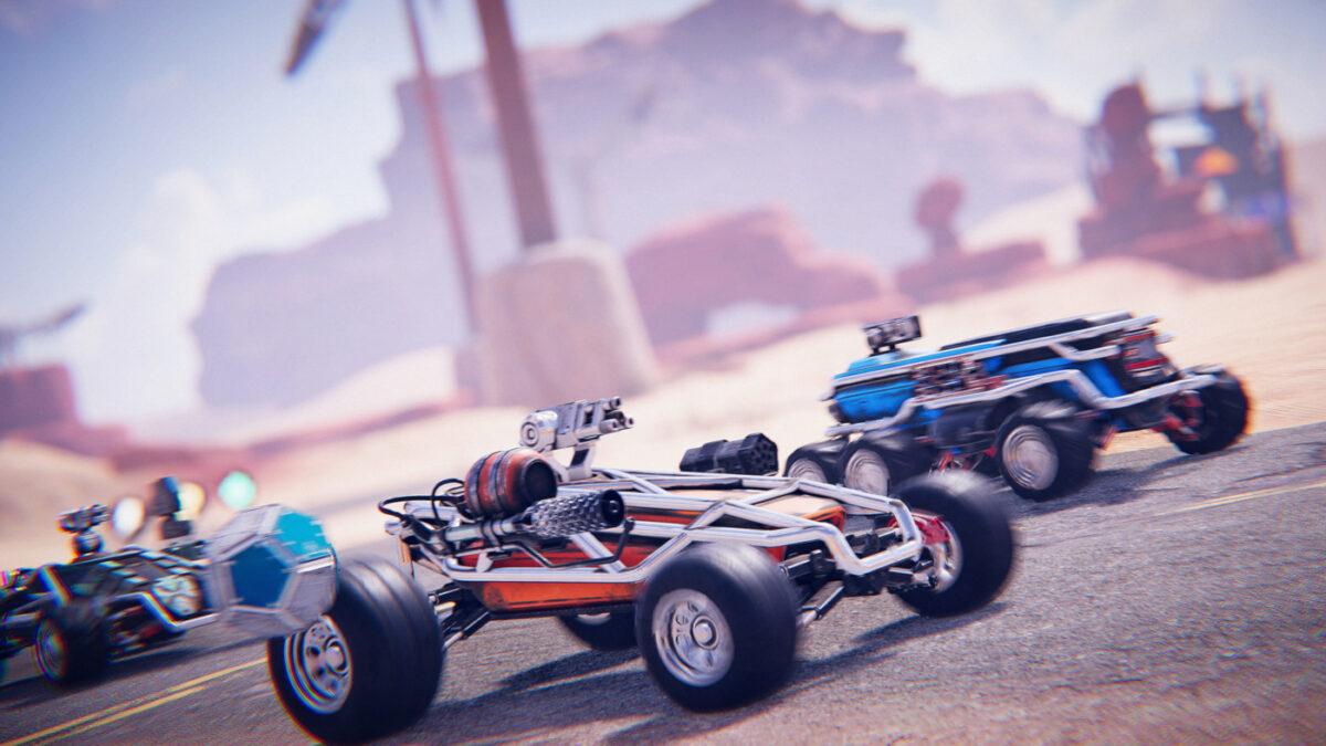 RC Car Combat Game KEO Arrives In September