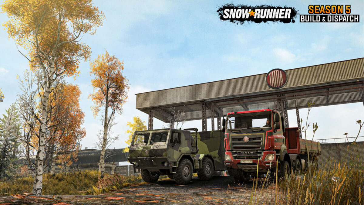 SnowRunner Season 5 Starts On September 9th, 2021 with two new trucks unlockable as you