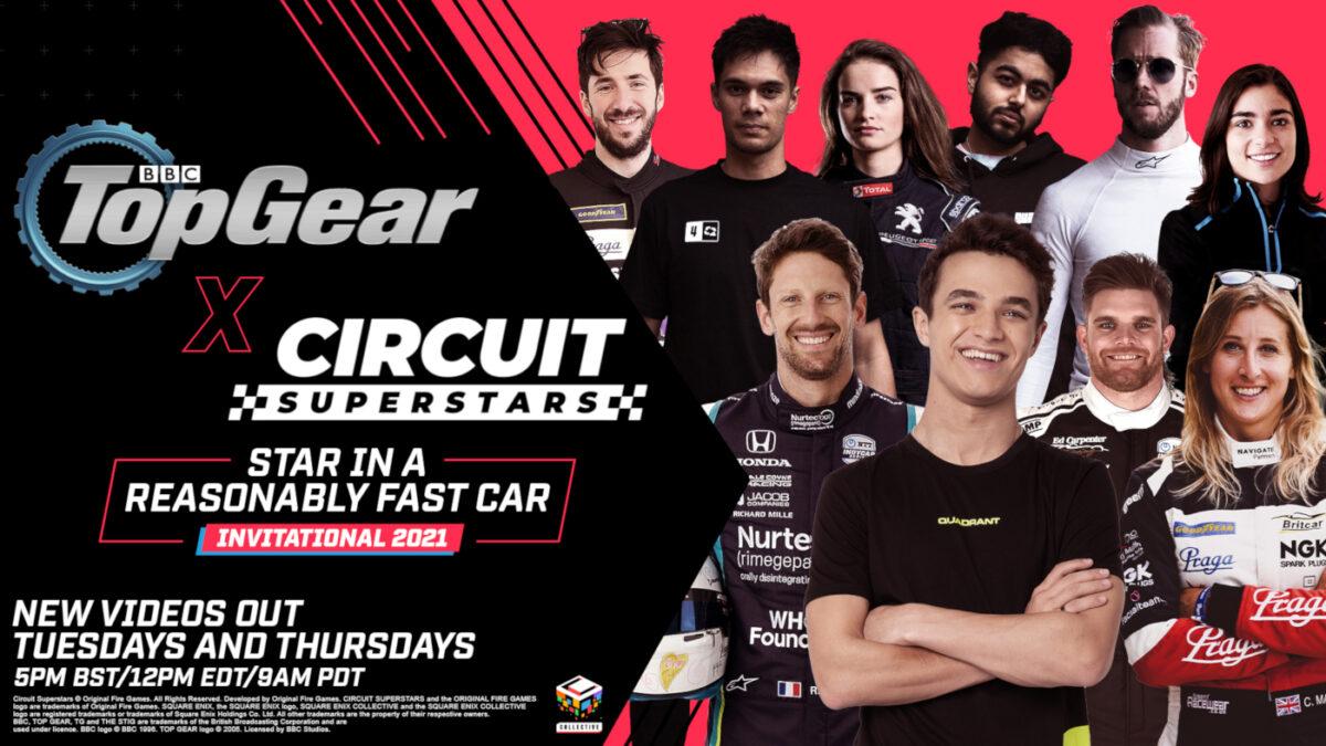 Top Gear x Circuit Superstars Invitational Starts