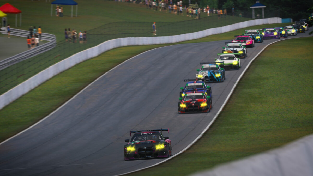 Only 30 cars saw the chequered flag from a grid of 45 entries