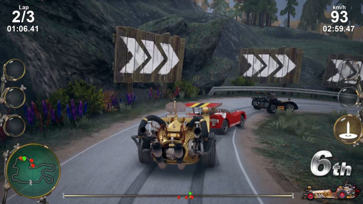 The Pinchcliffe Grand Prix racing onto PC and Switch in November 2021